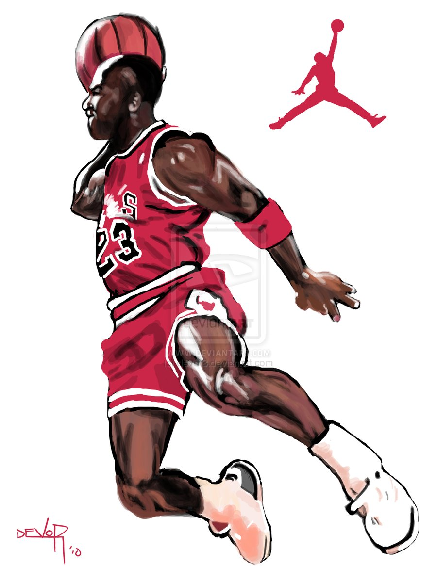 Jordan Dunking It Clipart - Clipart Kid