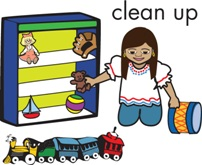 Clean Up Toys Clip Art Clipart   Free Clipart