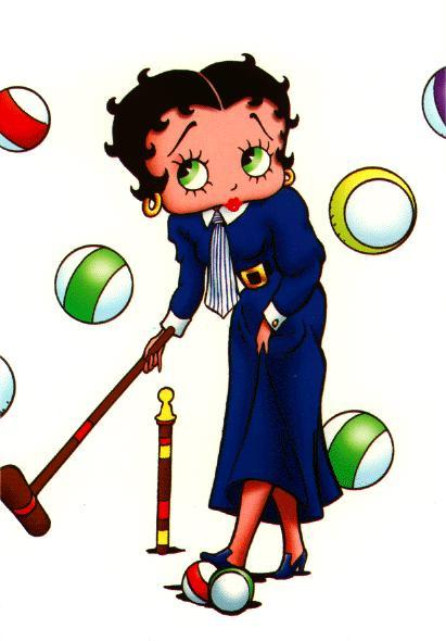 Clip Art Bambini Cartoons Betty Boop Quadri 661 075