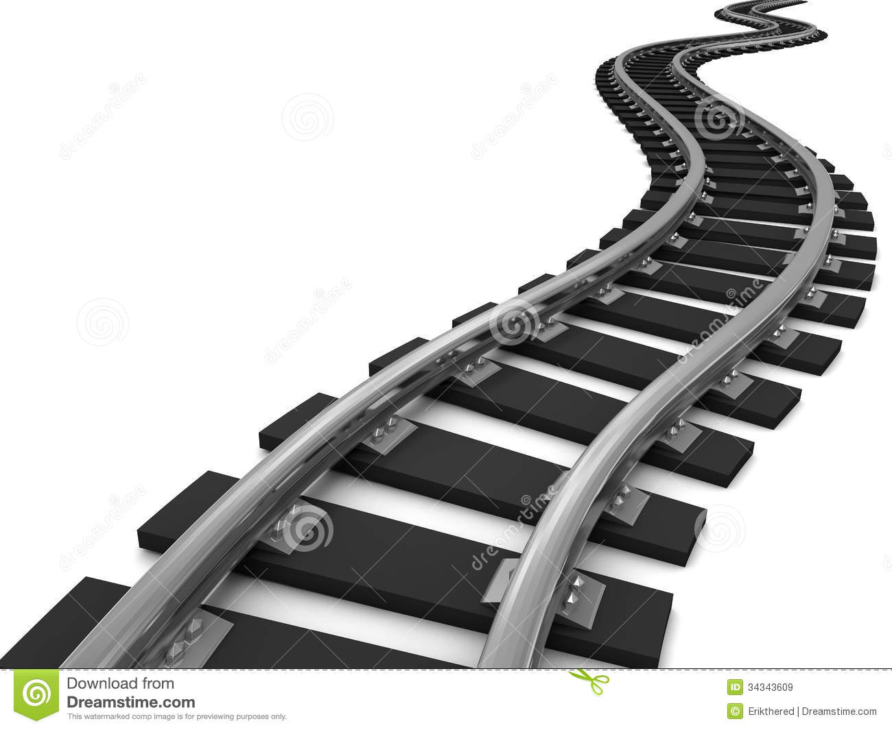 Railroad Tracks Clipart - Clipart Suggest