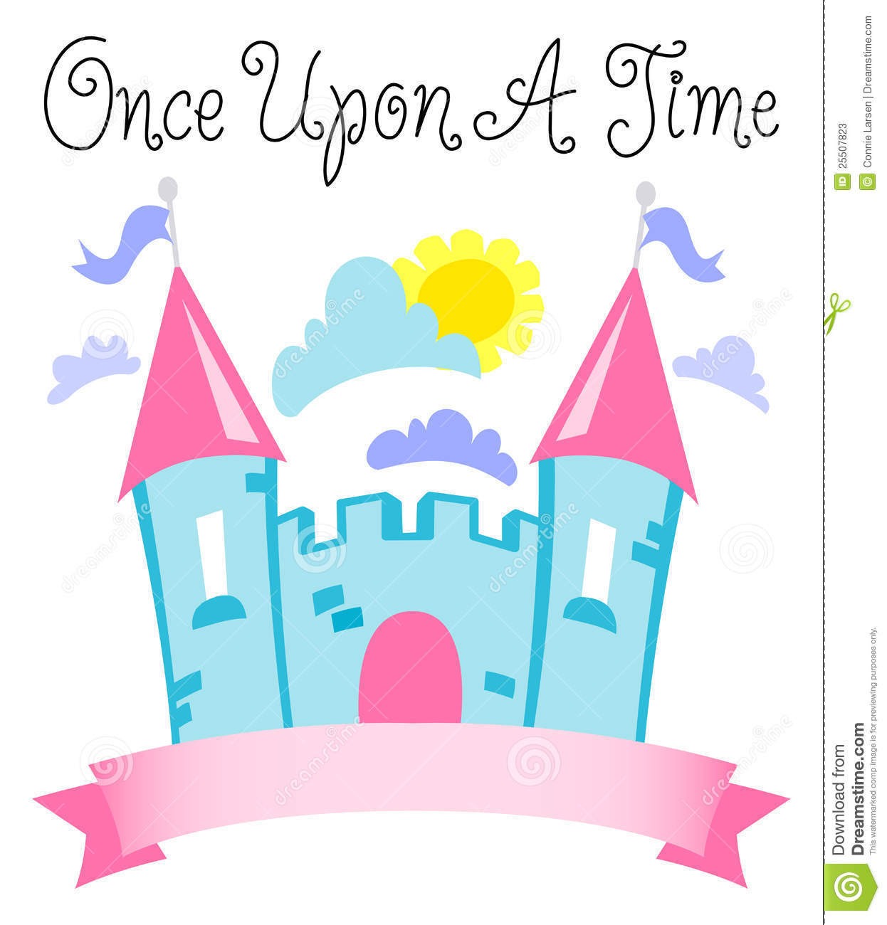 Fairy Tale Castle Clipart Time Fairytale Castle Eps