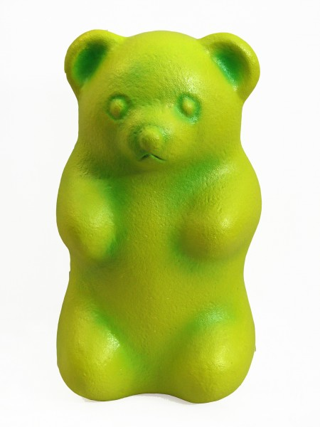 Giant Solid Gummy Bear Green Food And Drink Theme
