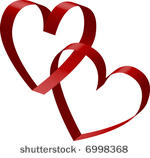 Heart Splatter And Banners Free Vector Heart Splatter And Banners