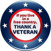 If You Live In A Free Country Thank A Veteran