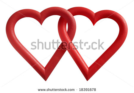 Intertwined Hearts Clipart   Cliparthut   Free Clipart