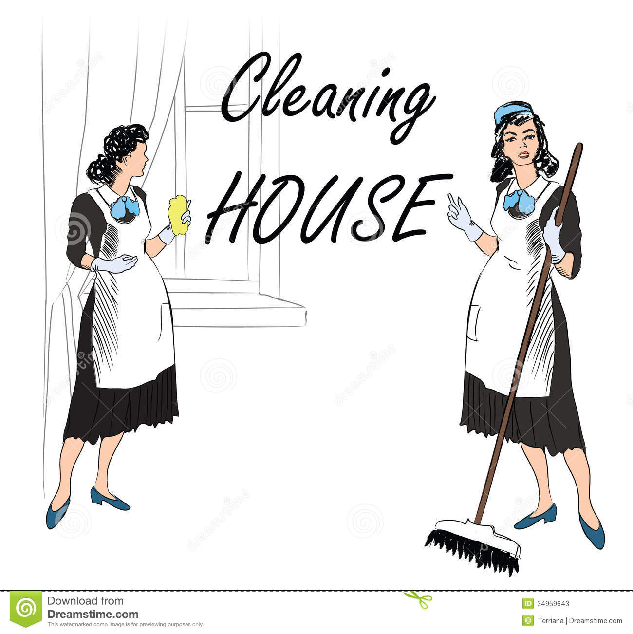 cleaning services clipart clipart kid maid 20clipart clipart panda clipart images