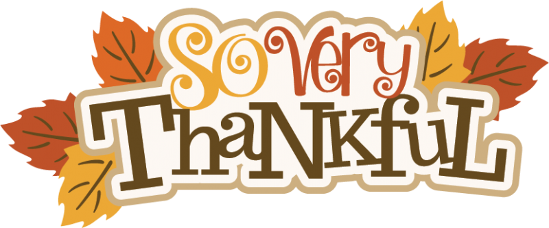 So Very Thankful Svg Scrapbook Title Thanksgiving Svg Scrapbook Title