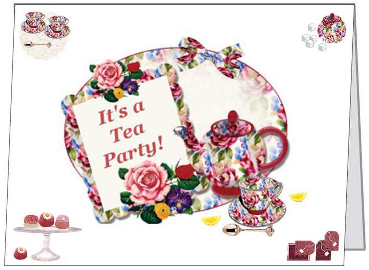 Tea Table Linens Teapot Jewelry Tea Cup Candles Victorian Stationery