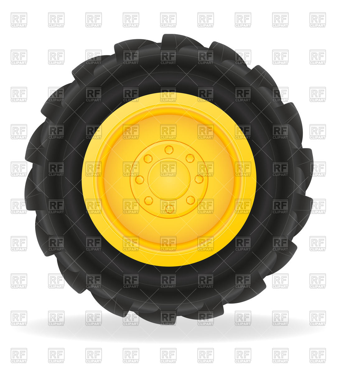 Clip Art Tractor Wheels : Case ih symbol clipart suggest