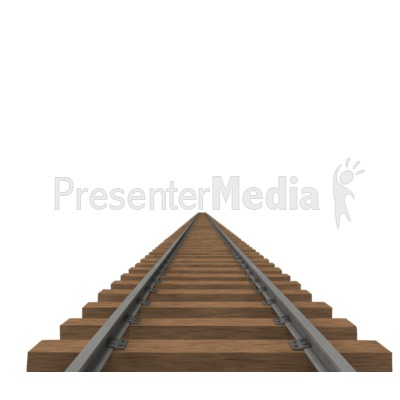Train Track   Presentation Clipart   Great Clipart For Presentations