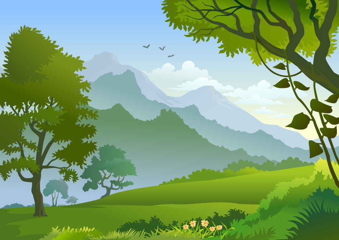 Cartoon Forest Background Clipart - Clipart Kid