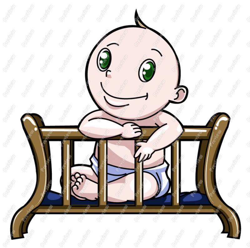 clipart baby cradle - photo #17