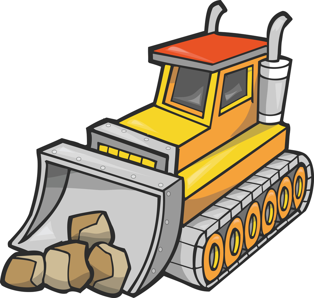 Clip Art Bulldozer Clipart bulldozer clipart kid cliparts co