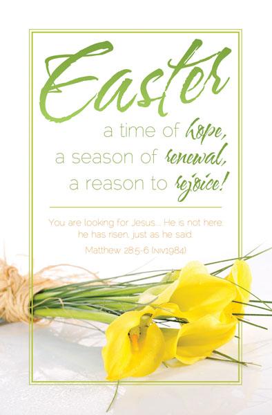 Easter Bulletin For Churches Clipart - Clipart Kid