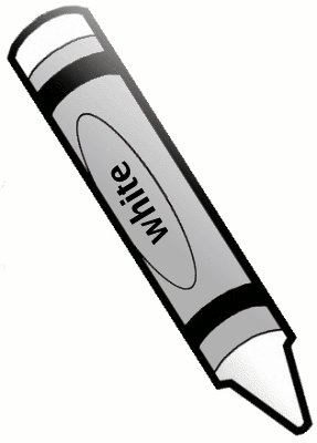 Crayon Black And White Clipart - Clipart Suggest