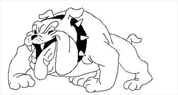 Free Bulldog Fun1 Clipart   Free Clipart Graphics Images And Photos