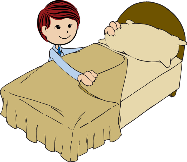 Bed Sheets Clipart - Clipart Kid