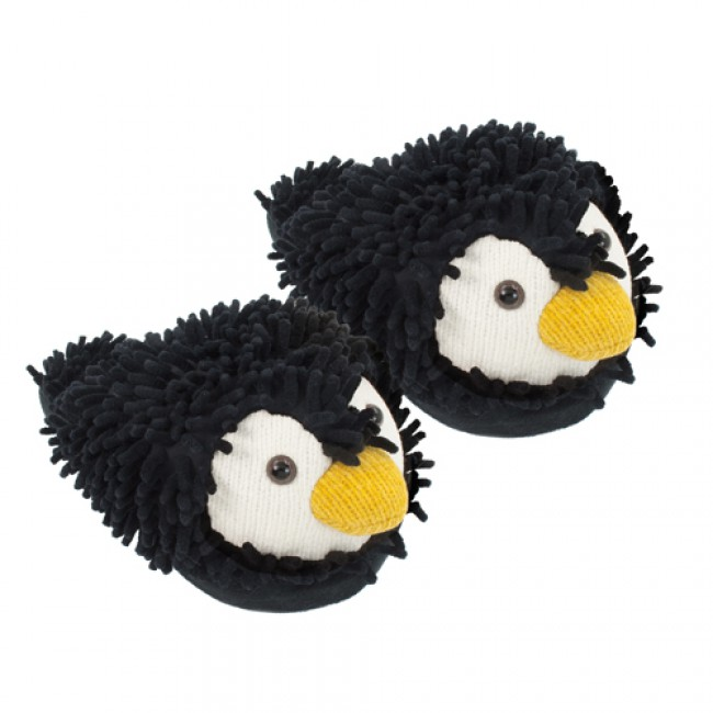 Home   Penguin Fuzzy Friends Slippers