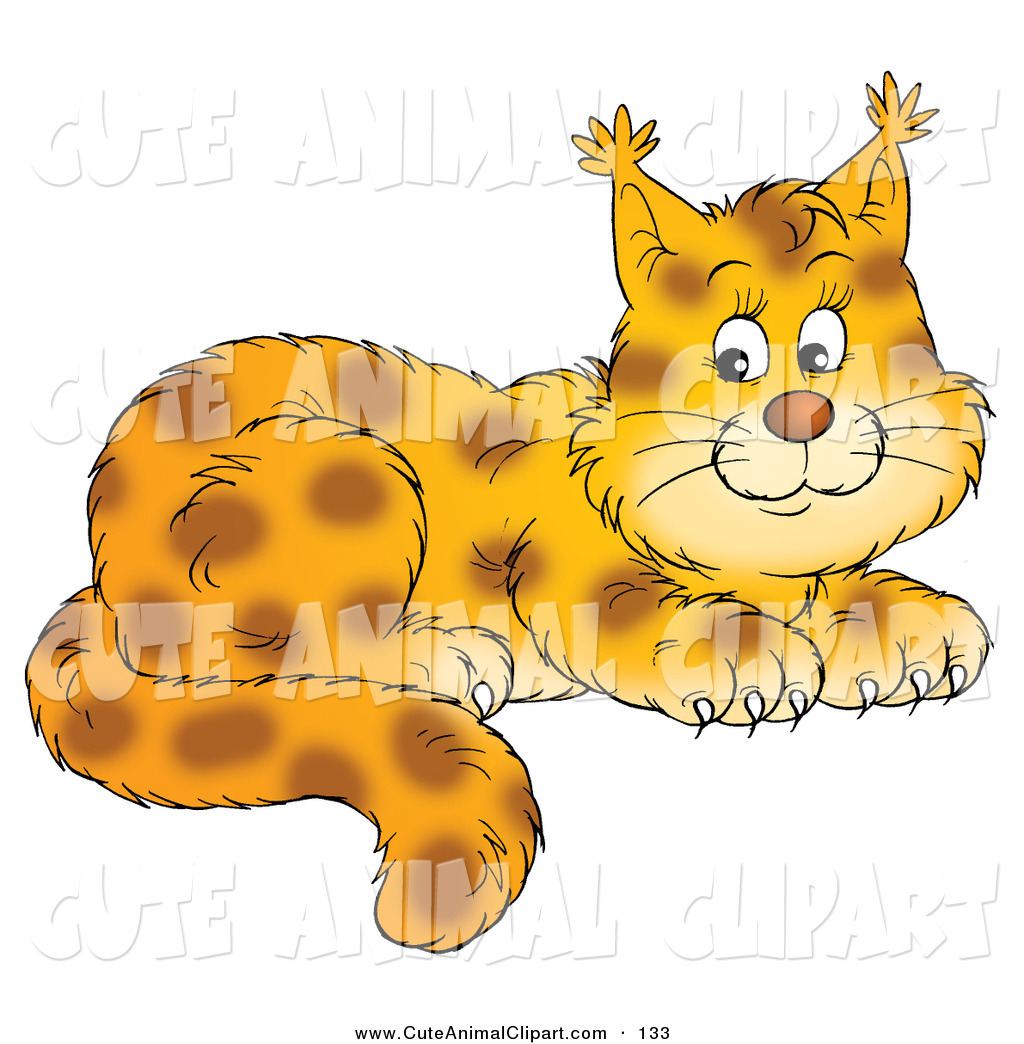 Spotted Cats Clipart - Clipart Kid