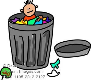 Paper Toss Trash Can Clipart   Cliparthut   Free Clipart