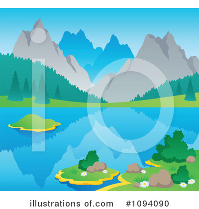 Royalty Free  Rf  Mountains Clipart Illustration By Visekart   Stock