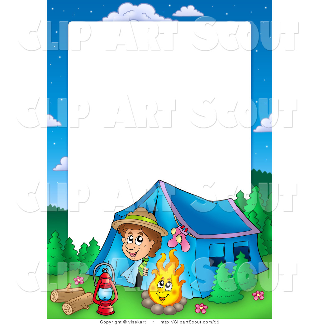 Summer Camp Border Clipart   Clipart Panda   Free Clipart Images