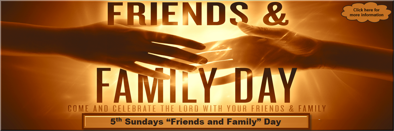 Th Sundays  Friends And Family  Day