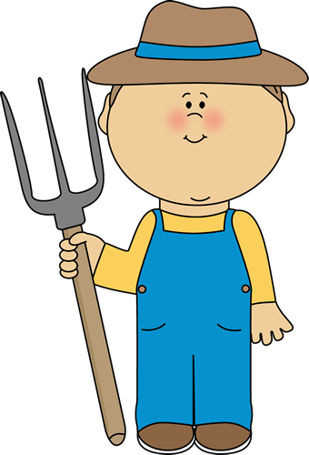 Farmer Clipart   Free Vector Download