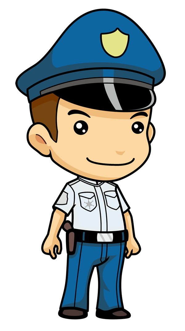 Cartoon Police Officer Clipart - Clipart Kid