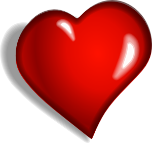 Heart 1 Clip Art At Clker Com   Vector Clip Art Online Royalty Free