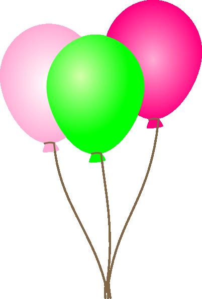 Purple Balloons Clipart - Clipart Kid