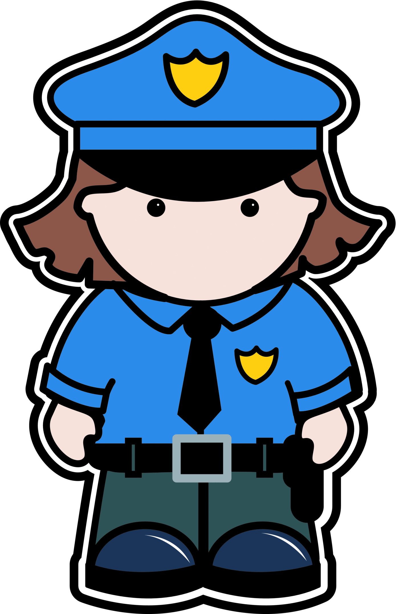 Police Officer Clipart - Clipart SuggestPolice Woman Clip Art Free
