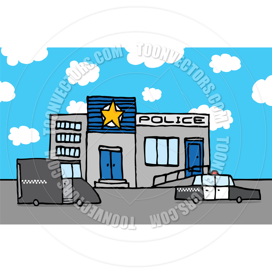 Police Station Clipart - Clipart Kid