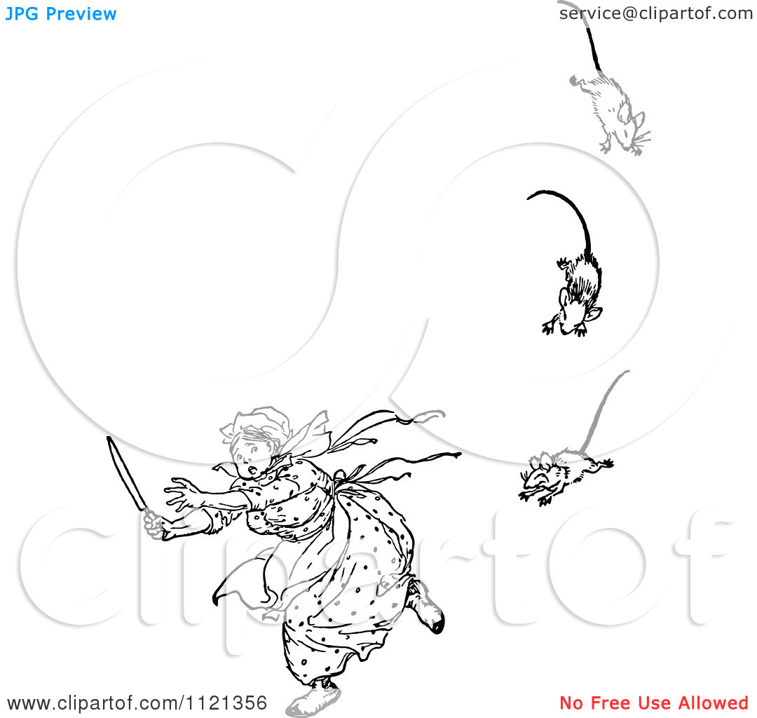 Royalty Free Clipart Illustration Three Blind Mice Over   Jobspapa Com