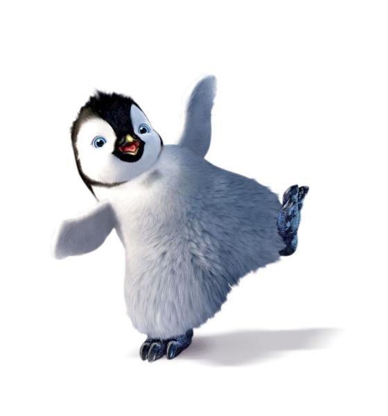 Happy Feet Penguin Clipart
