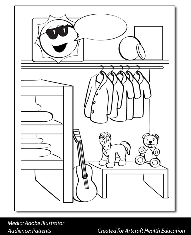 clean up toys black and white clipart
