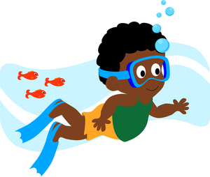 Boy Swimming Clipart - Clipart Suggest