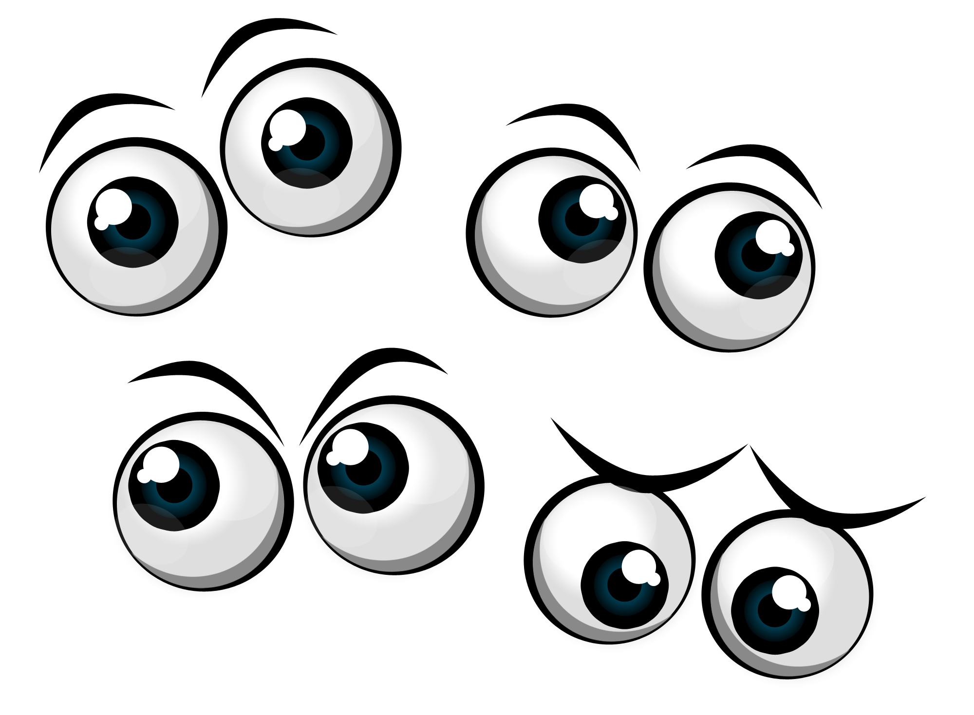 Free Free Cartoon Eyes Icons Psd Png And Picture   Photoshop Graphics