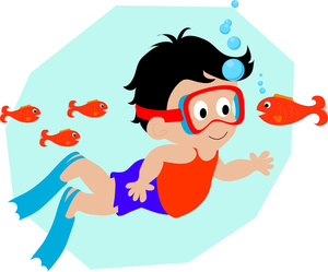 Boy Swimmer Free Clipart - Clipart Suggest