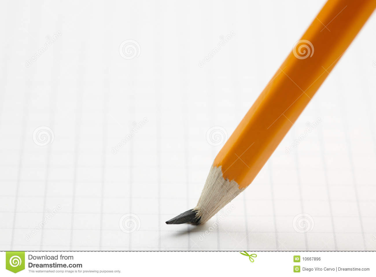 Pencil With Broken Point Royalty Free Stock Image   Image  10667896