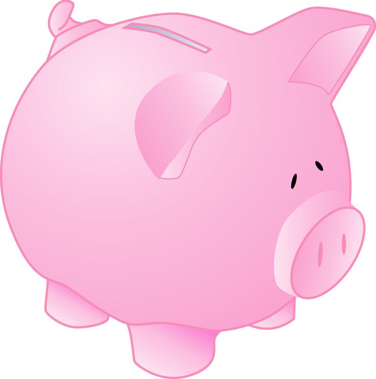 Piggy Bank Clipart - Clipart Suggest