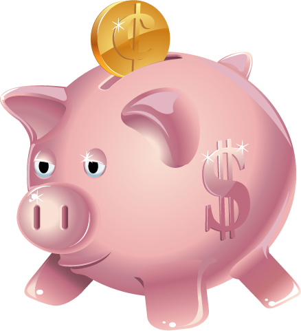 Clip Art Piggy Bank Clip Art piggy bank clipart kid fort