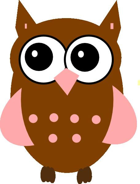 Pink Owl Clip Art At Clker Com   Vector Clip Art Online Royalty Free