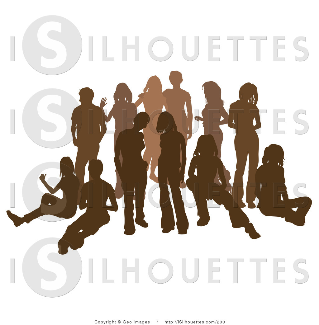 Related With Singer Group Silhouette Clip Art