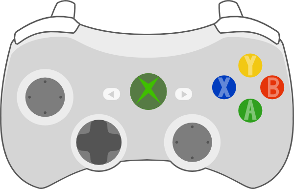Xbox Controller Clip Art At Clker Com   Vector Clip Art Online