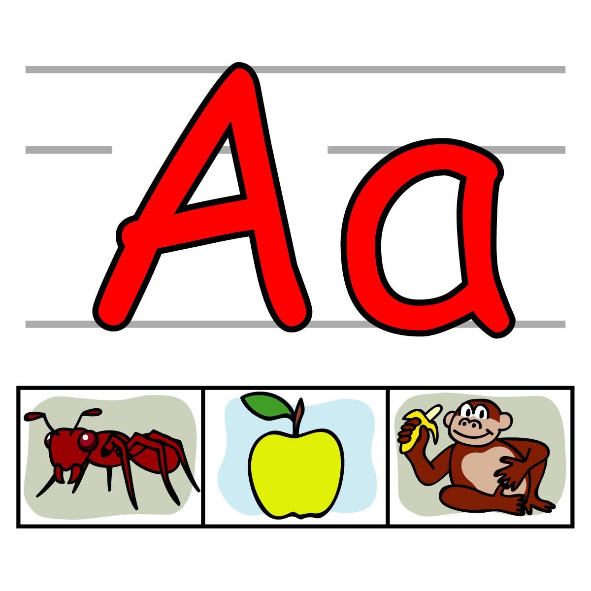 Clip Art Alphabet Clipart individual alphabet letters clipart kid abc clipart