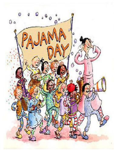 Clip Art Pajama Day Clip Art pj day clipart kid announcements brookfield elementary pajama wednesday