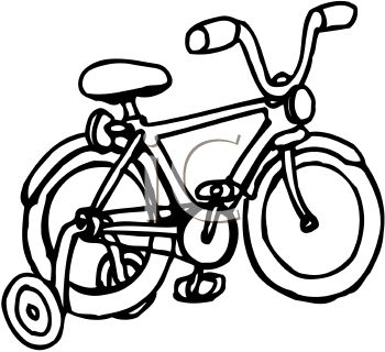 Bike Black And White Clipart - Clipart Suggest