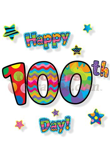 100th Birthday Clipart - Clipart Kid