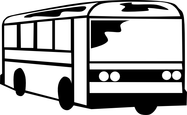 Clip Art Bus Clipart Black And White black and white bus clipart kid panda free images